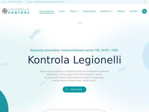 Legionellacontrol.pl bakteria