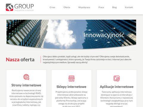 Mgroup.pl strony i sklepy internetowe