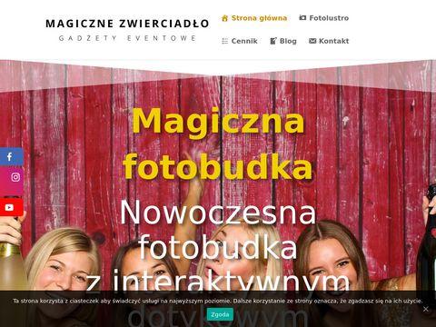 Magiczne-zwierciadlo.pl fotobudka na wesele
