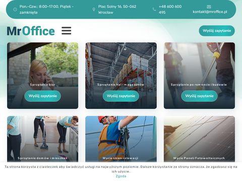 Mr-office.pl firma sprzątająca