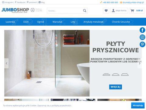 Jumbo-shop.pl brodzik posadzkowy w sklepie