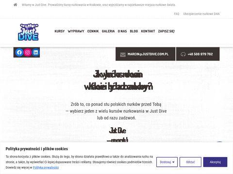 Justdive.com.pl szkoła nurkowania