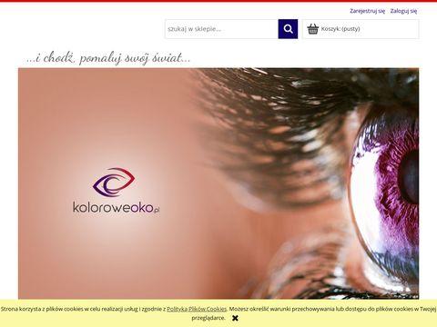Koloroweoko.pl sklep z soczewkami