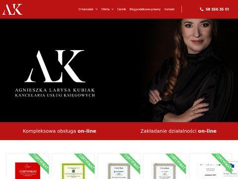 Kancelaria-kubiak.pl rozliczanie pitów Gdańsk