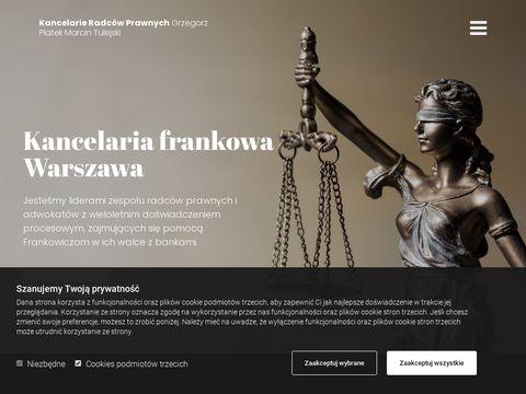 Kpchf.pl radcy prawni jak odfrankowić kredyt