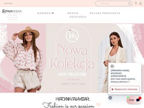 Italiamoda.pl sklep z odzieżą włoską