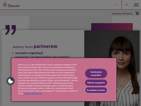 Isecure sp. z o.o. ochrona danych