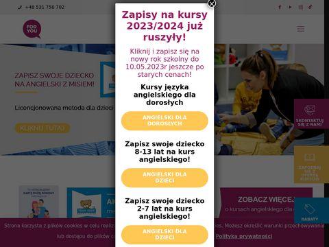 Foryou.edu.pl szkoły językowe Bielsko