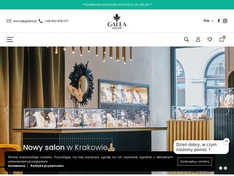 Galea.pl sklep jubilerski Kraków