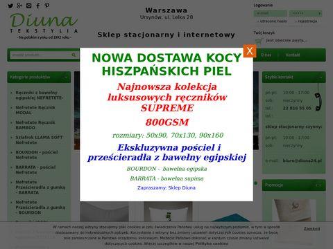 Diuna24.pl tekstylia sklep