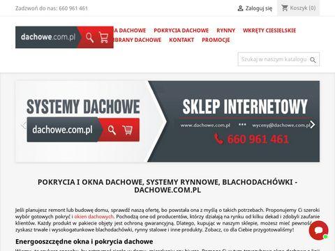 Dachowe.com.pl rynny stalowe