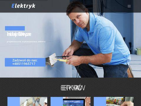 Elektrykwkrakowie.com.pl Paweł Kękuś