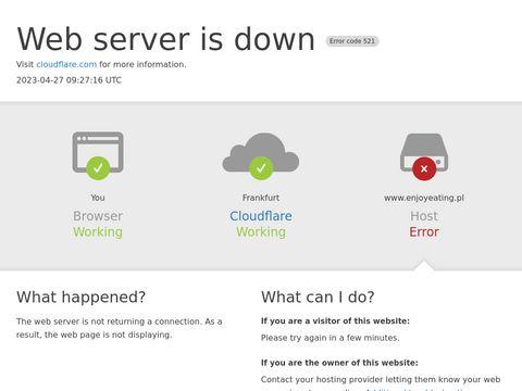 Enjoyeating.pl dieta pudełkowa Kraków