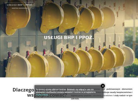 Bhpippoz.com.pl szkolenie BHP Warszawa PPOŻ