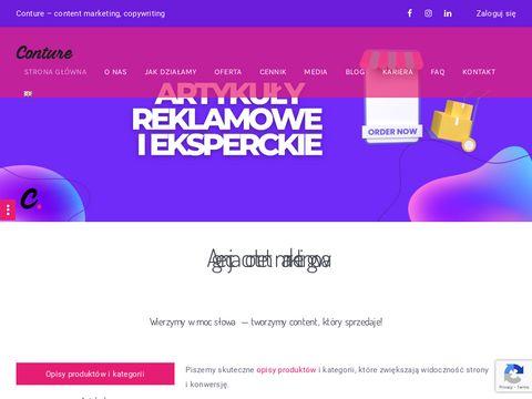 Conture.pl agencja content marketing