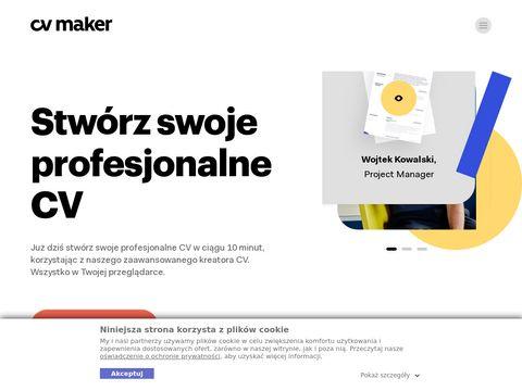 Cv-maker.pl stwórz curriculum