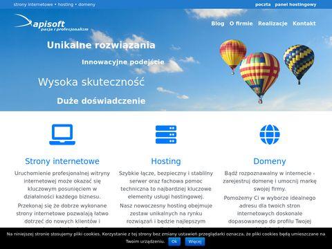 Apisoft.pl projektowanie stron