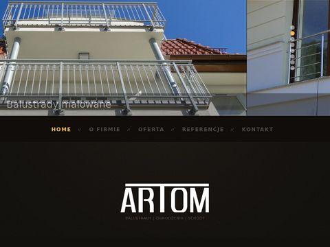 Artom24.pl schody stalowe Gdynia