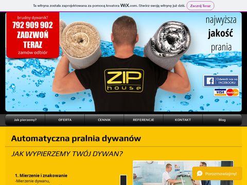 Ziphouse.pl czyszczenie dywanów