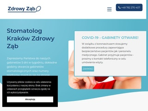 Zdrowy-zab.pl gabinet stomatologiczny Kraków