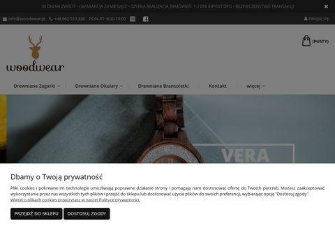 Woodwear.pl okulary z drewnianymi oprawkami