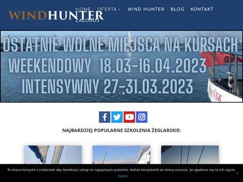 Wind-hunter.pl szkolenia i kursy żeglarskie
