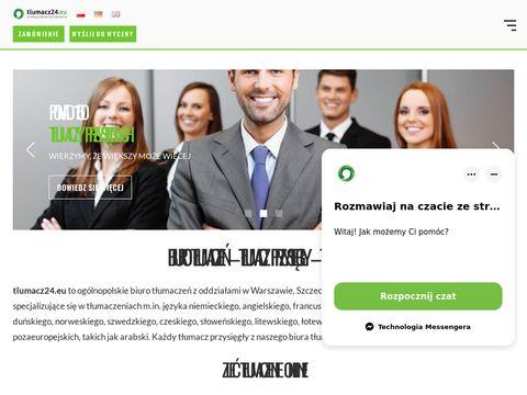 Tlumacz24.eu Warszawa