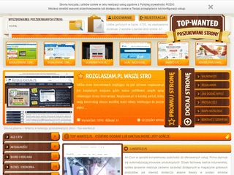 Top-wanted.pl katalog stron