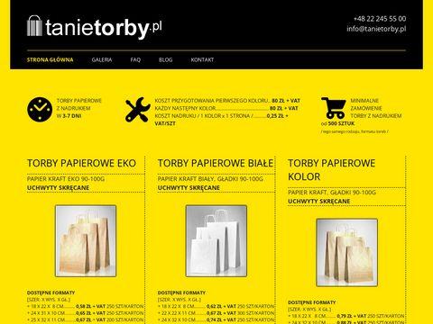 Tanietorby.pl - papierowe