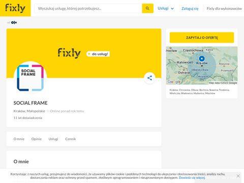 Socialframe.pl reklama w internecie