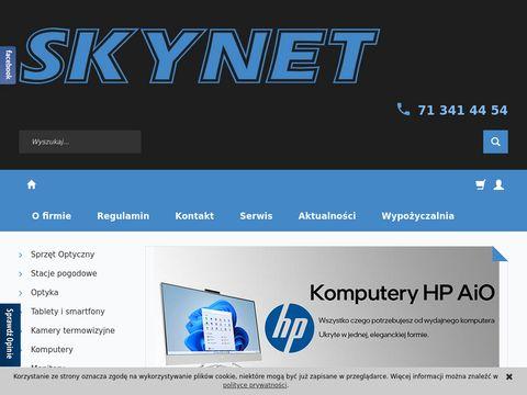 Skynet.pl sklep z mikroskopem we Wrocławiu
