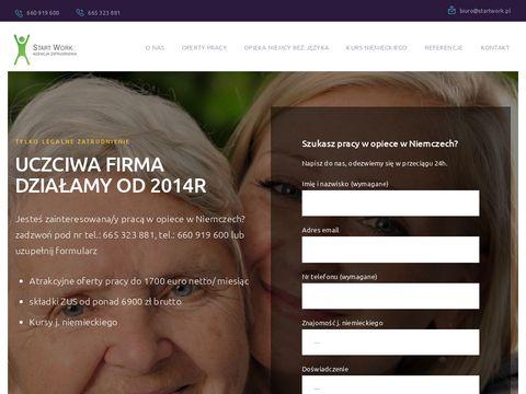 Startwork.pl zatrudnienie w Niemczech