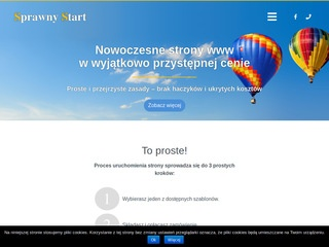 Sprawnystart.pl - strony internetowe