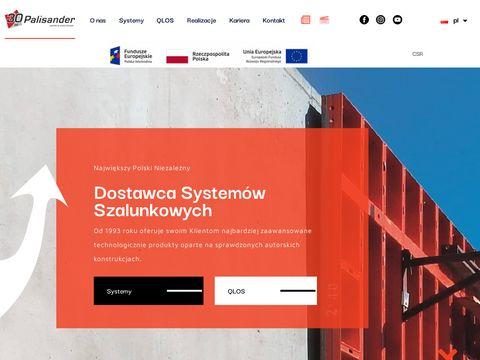 Palisander.com.pl szalunki do betonu