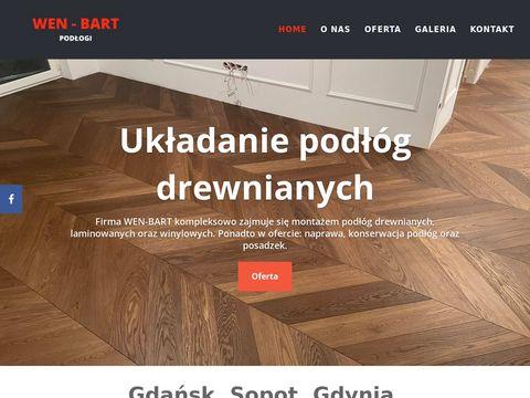 Wen-bart.pl - układanie podłóg w Gdyni