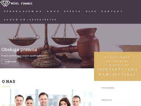 Wexel.pl odzyskiwanie należności