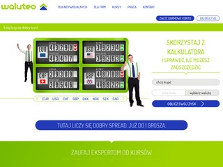 Waluteo.pl nowy kantor online
