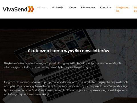 Vivasend.pl newslettery
