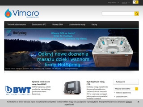Vimaro.pl chemia i akcesoria basenowe