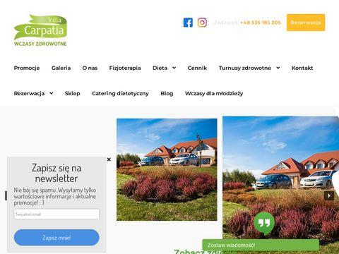 Villacarpatia.com wczasy zdrowotne