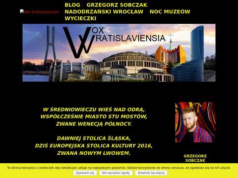 Voxvratislaviensia.eu przewodnik po Wrocławiu