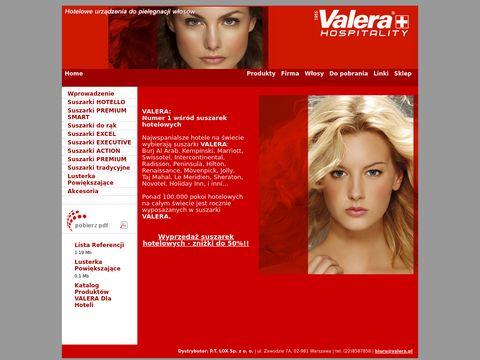 Valera.pl - suszarki hotelowe