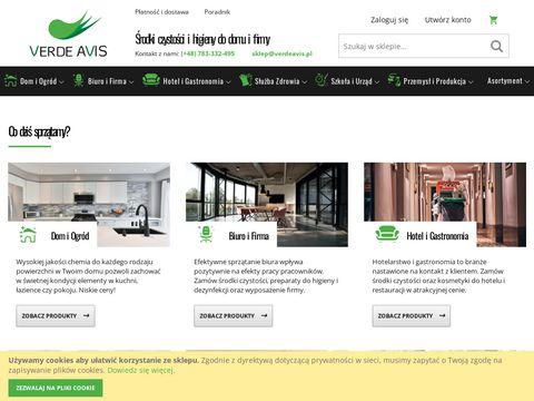 Verdeavis.pl środki czystości chemia