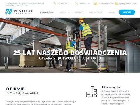 Venteco.com klimatyzacja