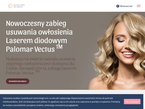 Vectussopot.pl depilacja laser Palomar