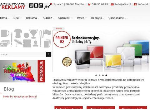 W3m.pl pracownia reklamy Mogilno