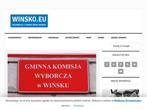 Informacje i kuchnia z Wińska