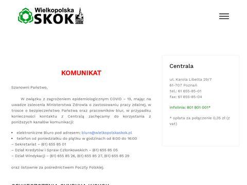 SKOK Wielkopolska - pożyczki i lokaty