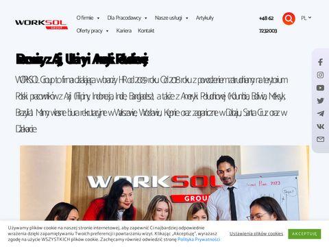 Worksol.pl pracownik z ukrainy