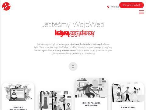 Wojoweb.pl - Tworzenie stron